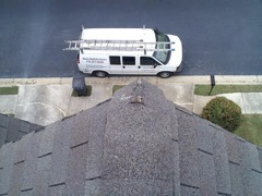 Smyrna's Best Gutter Cleaners' Certainteed Certified roofers can replace cracked ridgecaps.